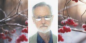 Tony Devaney with winter berries