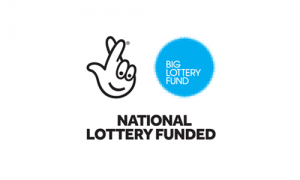 National Lottery Funded text with Big Lottery Fund logo